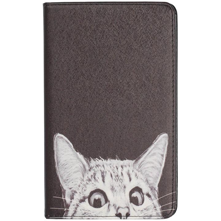 Чехол Galeo Classy Printed Stand для Xiaomi Mi Pad 4 Funny Cat Black
