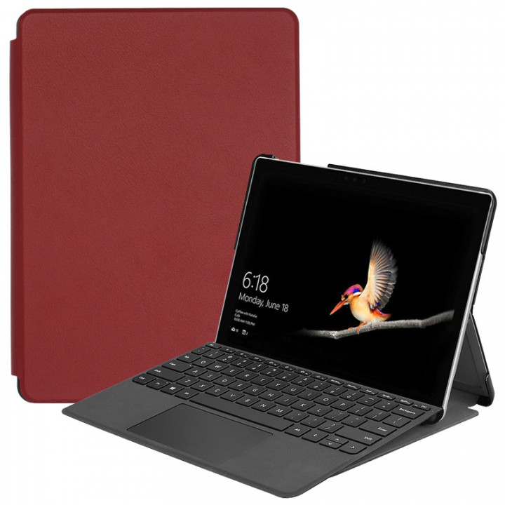Чехол Galeo Slimline для Microsoft Surface Go / Surface Go 2 (2020) Wine Red