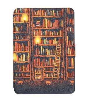 Чехол Galeo Slimline Print для Amazon Kindle Paperwhite Library