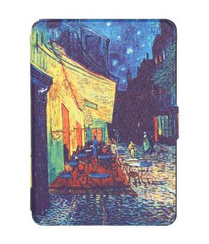 Чехол Galeo Slimline Print для Amazon Kindle Paperwhite Cafe Terrace at Night