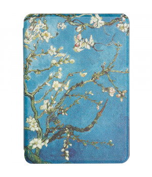 Чехол Galeo TPU Print для Amazon Kindle Paperwhite 4 (2018) Almond Blossom