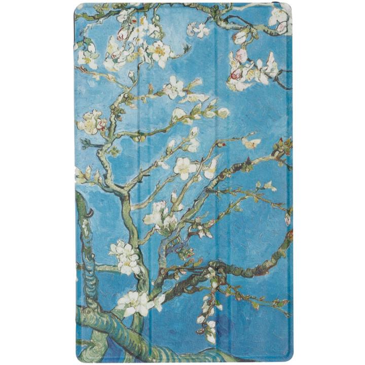 Чехол Galeo Slimline Print для Lenovo Tab E8 TB-8304F Almond Blossom