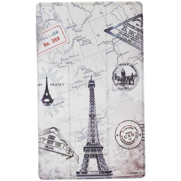 Чехол Galeo Slimline Print для Lenovo Tab E8 TB-8304F Paris