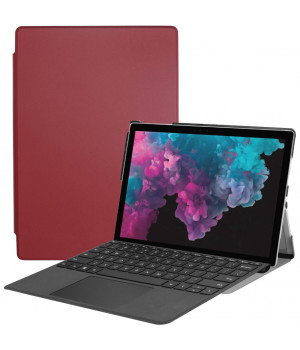 Чехол Galeo Slimline для Microsoft Surface Pro 4 / 5 / 6 / 7 Wine Red