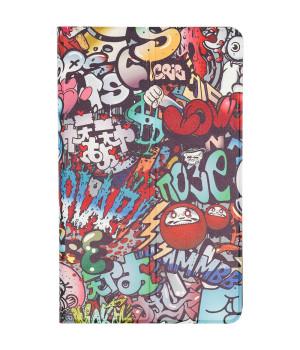 Чехол Galeo Slim Stand для Xiaomi Mi Pad 4 Plus Graffiti