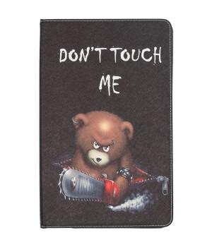 Чехол Galeo Classy Printed Stand для Samsung Galaxy Tab A 10.5 SM-T590, T595 Angry Bear