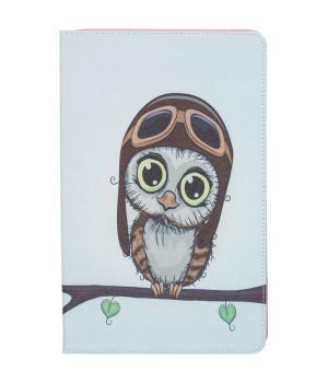 Чехол Galeo Classy Printed Stand для Samsung Galaxy Tab A 10.5 SM-T590, T595 Aviator Owl