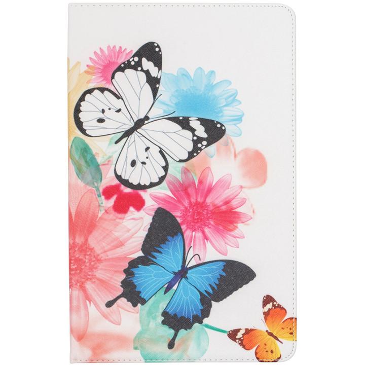 Чехол Galeo Classy Printed Stand для Samsung Galaxy Tab A 10.5 SM-T590, T595 Butterflies