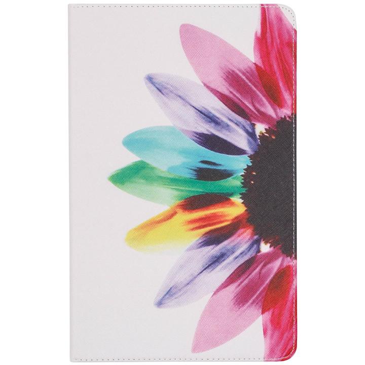 Чехол Galeo Classy Printed Stand для Samsung Galaxy Tab A 10.5 SM-T590, T595 Flower