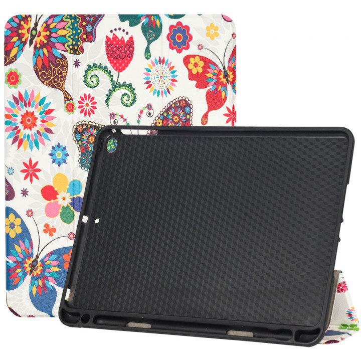 Чехол Galeo Flex with Pencil Holder для Apple iPad 9.7 2018 A1893, A1954 Butterflies