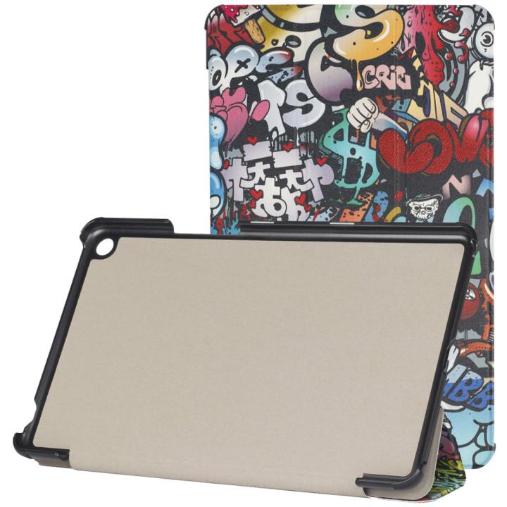 "Чехол Galeo Slimline Print для Xiaomi Mi Pad 4 Plus 10.1"" Graffiti"