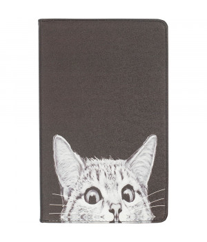 "Чехол Galeo Classy Printed Stand для Xiaomi Mi Pad 4 Plus 10.1"" Funny Cat Black"