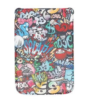 Чехол Galeo TPU Print для Pocketbook 616, 627, 632 Graffiti