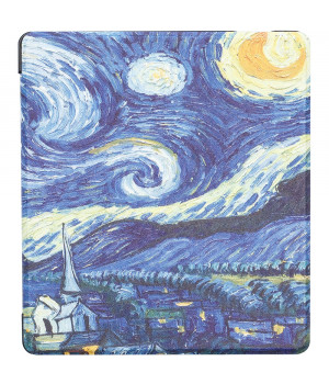 Чехол Galeo Slimline Print для Amazon Kindle Oasis 2017 / 2019 Van Gogh