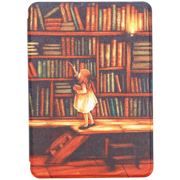 Чехол Galeo Slimline Print для Amazon Kindle Paperwhite 4 (2018) Library