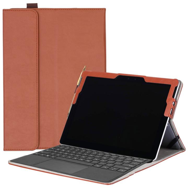 Чехол Galeo SlimBook для Microsoft Surface Go Brown