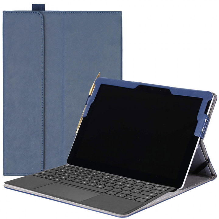 Чехол Galeo SlimBook для Microsoft Surface Go Navy Blue