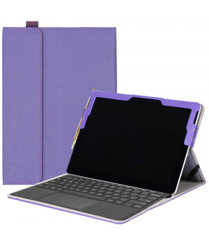 Чехол Galeo SlimBook для Microsoft Surface Go Purple