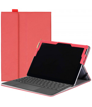 Чехол Galeo SlimBook для Microsoft Surface Go Red