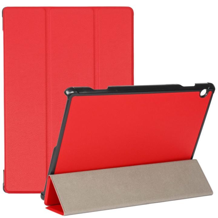 Чехол Galeo Slimline для Lenovo Tab M10 TB-X605F, X605L Red