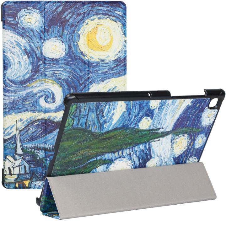 Чехол Galeo Slimline Print для Samsung Galaxy Tab S5e 10.5 (2019) SM-T720, SM-T725 Van Gogh