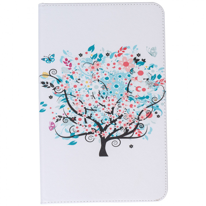 Чехол Galeo Classy Printed Stand для Samsung Galaxy Tab E 9.6 SM-T560, T561 Blossom Tree