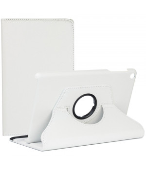 Поворотный чехол Galeo для Samsung Galaxy Tab A 10.1 (2019) SM-T510, T515 White