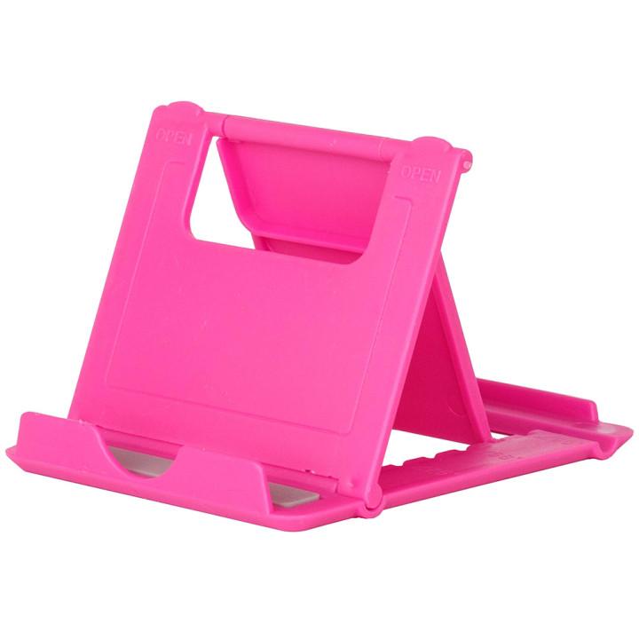 Универсальная подставка для планшета / смартфона Galeo Fold Stand Pink