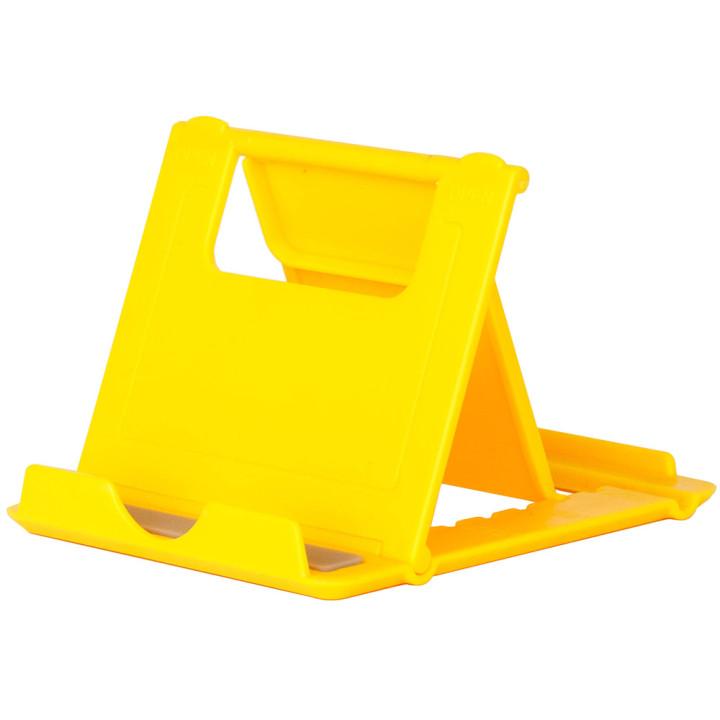 Универсальная подставка для планшета / смартфона Galeo Fold Stand Yellow