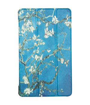 Чехол Galeo Slimline Print для Samsung Galaxy Tab A 8.0 (2019) SM-T290, SM-T295 Almond Blossom