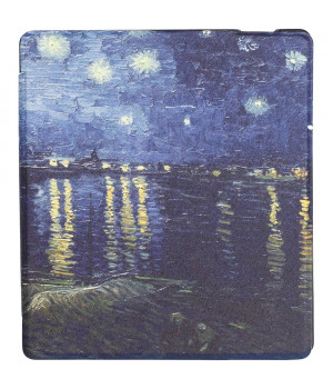 Чехол Galeo Slimline Print для Amazon Kindle Oasis 2017 / 2019 Van Gogh 2
