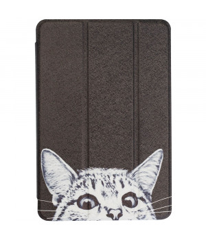 Чехол Galeo Printed Trifold для Apple iPad mini 5 (2019) Funny Cat