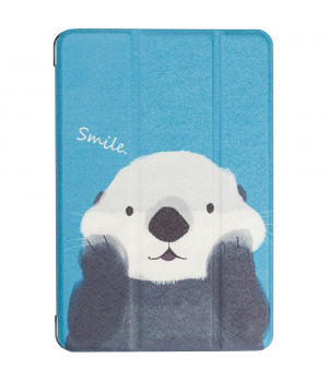 Чехол Galeo Printed Trifold для Apple iPad mini 5 (2019) Sea Otter