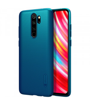 Чехол Nillkin Super Frosted Shield для Xiaomi Redmi Note 8 Pro Peacock Blue