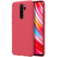 Чехол Nillkin Super Frosted Shield для Xiaomi Redmi Note 8 Pro Red