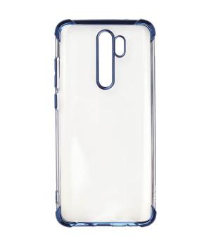 Чехол Galeo TPU Shockproof для Xiaomi Redmi Note 8 Pro Blue Trim