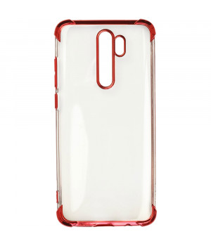 Чехол Galeo TPU Shockproof для Xiaomi Redmi Note 8 Pro Red Trim