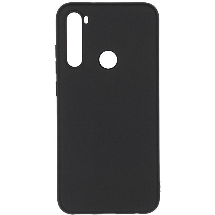 Чехол Galeo Liquid Silicone для Xiaomi Redmi Note 8 Black