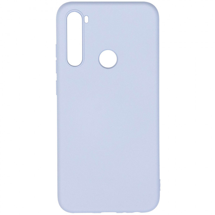 Чехол Galeo Liquid Silicone для Xiaomi Redmi Note 8 Pale Blue