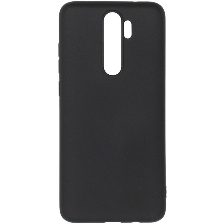 Чехол Galeo Liquid Silicone для Xiaomi Redmi Note 8 Pro Black