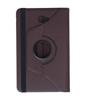 Поворотный чехол Galeo для Samsung Galaxy Tab A 10.1 2016 SM-T580, SM-T585 Brown