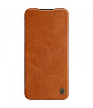 Кожаный чехол-книжка Nillkin Qin Leather Series для Xiaomi Redmi Note 8 Pro Brown