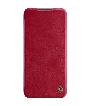 Кожаный чехол-книжка Nillkin Qin Leather Series для Xiaomi Redmi Note 8 Pro Red
