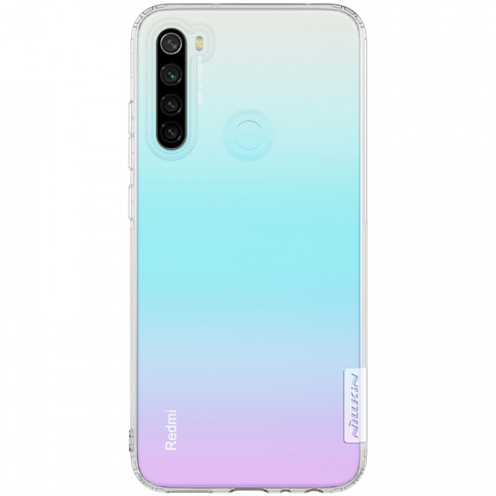 TPU чехол Nillkin Nature Series для Xiaomi Redmi Note 8 Transparent