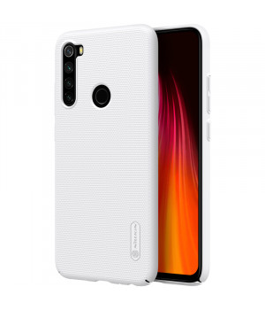 Чехол Nillkin Super Frosted Shield для Xiaomi Redmi Note 8 White
