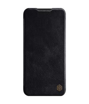 Кожаный чехол-книжка Nillkin Qin Leather Series для Xiaomi Redmi Note 8 Black