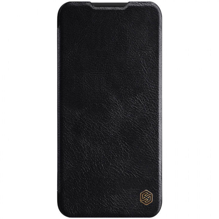 Кожаный чехол-книжка Nillkin Qin Leather Series для Xiaomi Redmi Note 8 Black