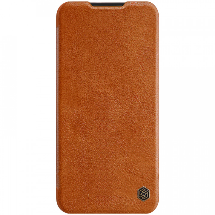 Кожаный чехол-книжка Nillkin Qin Leather Series для Xiaomi Redmi Note 8 Brown