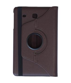Поворотный чехол Galeo для Samsung Galaxy Tab E 9.6 SM-T560, SM-T561 Brown