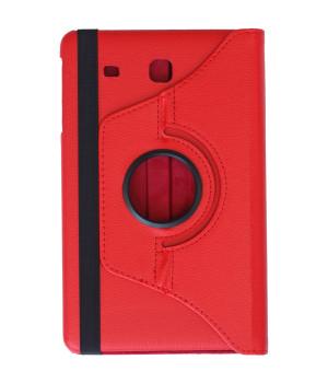 Поворотный чехол Galeo для Samsung Galaxy Tab E 9.6 SM-T560, SM-T561 Red